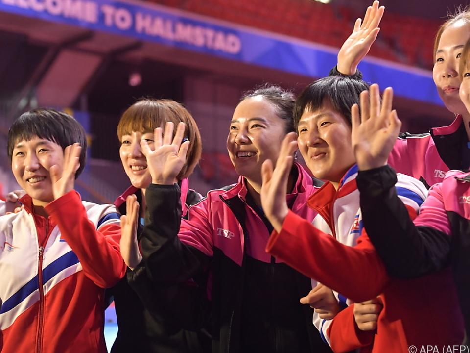 Nord- und Südkoreas Damen vereinigten sich zu einem Team