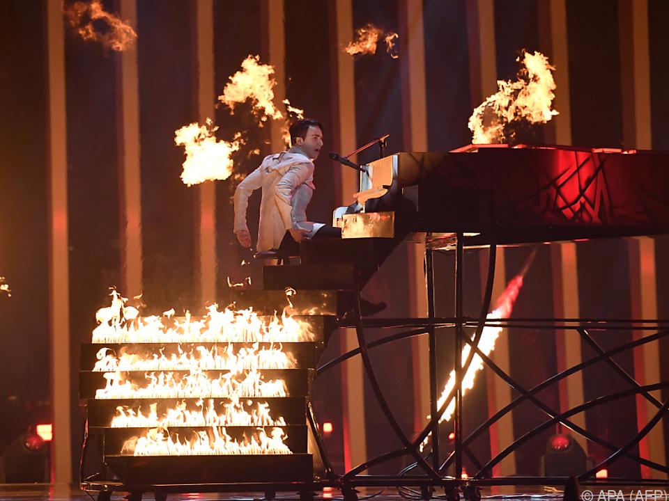 Melovin brennt für seinen Song \