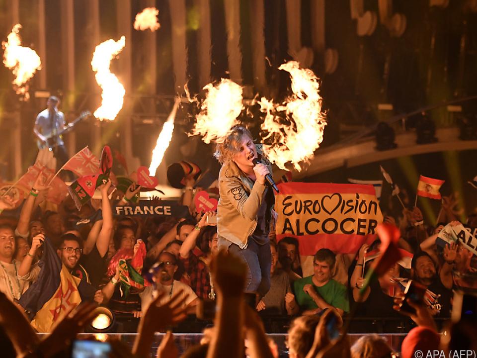 AWS präsentierten den wohl lautesten ESC-Song
