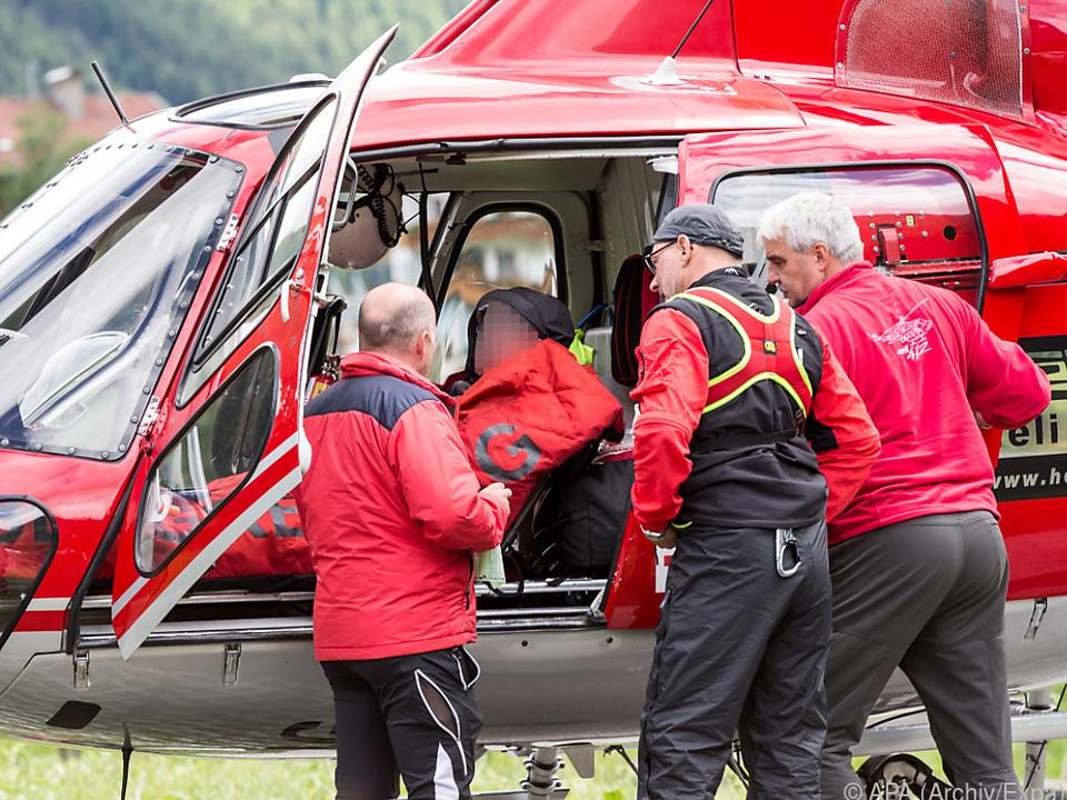 Notarzt-Team des Rettungshubschraubers konnte nicht mehr helfen