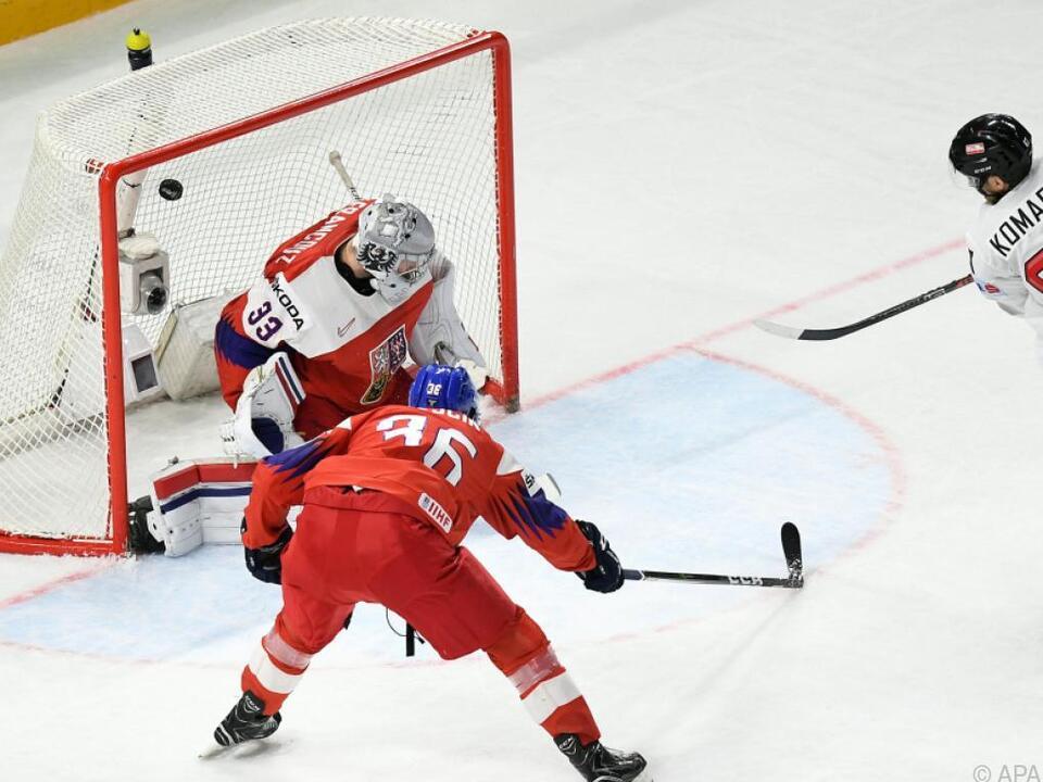 Österreich unterlag Tschechien allerdings nur knapp