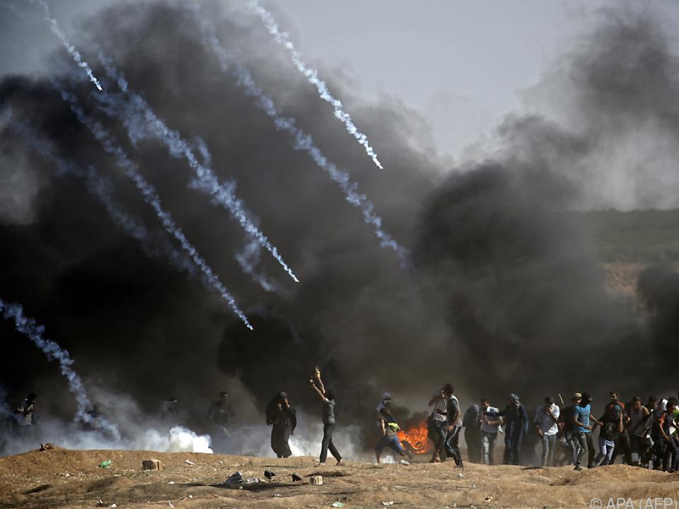 Palästinenserpräsident Abbas warf Israel ein \