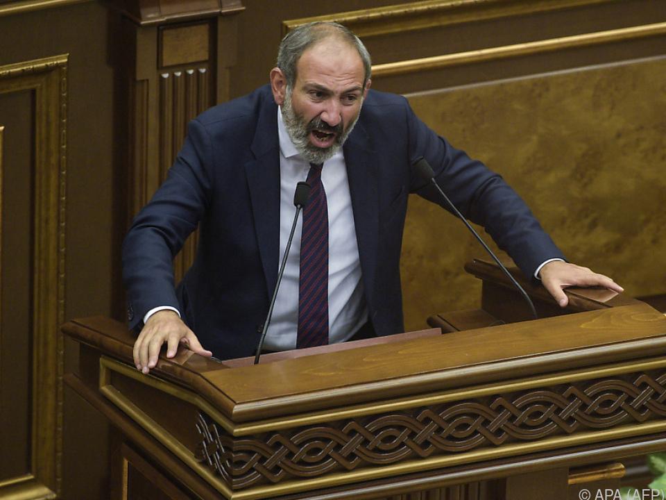 Paschinian verlor die Wahl trotz fehlender Gegenkandidaten