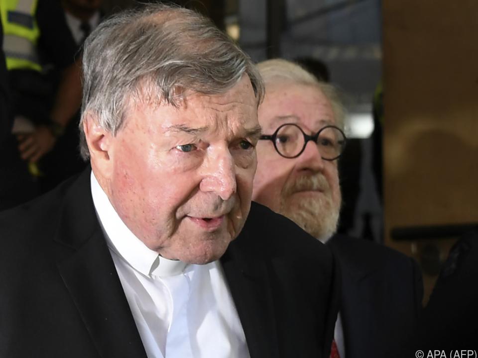 Vatikan-Finanzchef: Kardinal George Pell wegen Missbrauchsvorwurf vor Gericht