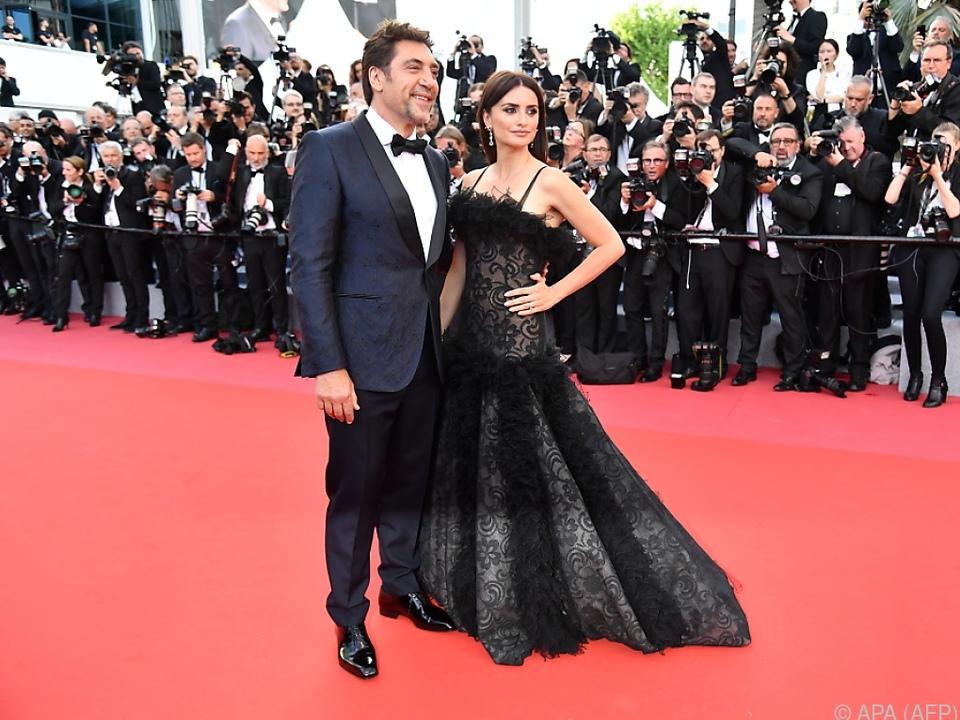 Penelope Cruz und Javier Bardem auf dem Red Carpet