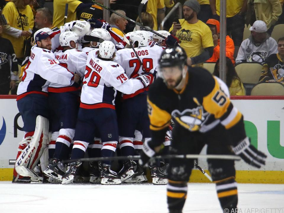 Pittsburgh Penguins mussten sich den Washington Capitals geschlagen geben