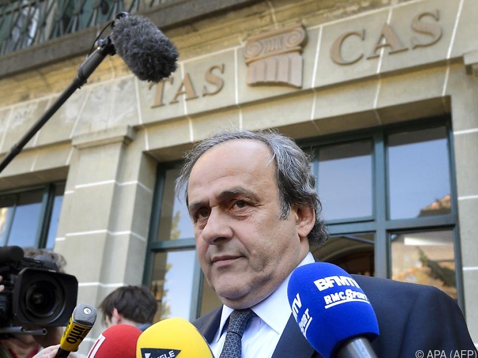 Platini hofft nun, dass die FIFA seine Sperre aufhebt