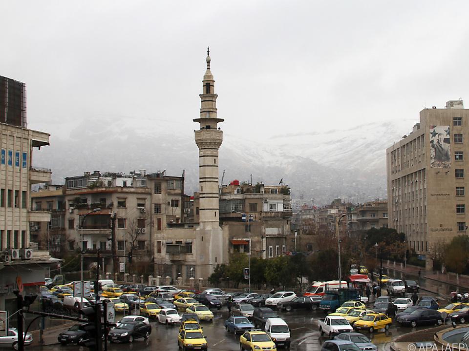 Platz im Zentrum von Damaskus