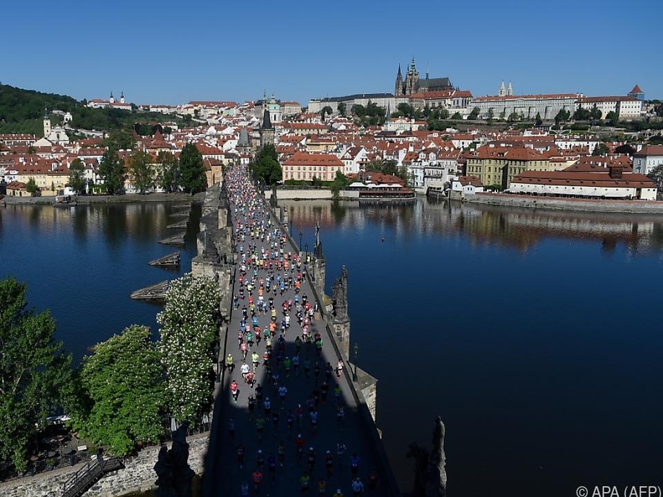 Prag ist nicht nur für Marathonläufer eine beliebte Urlaubsdestination
