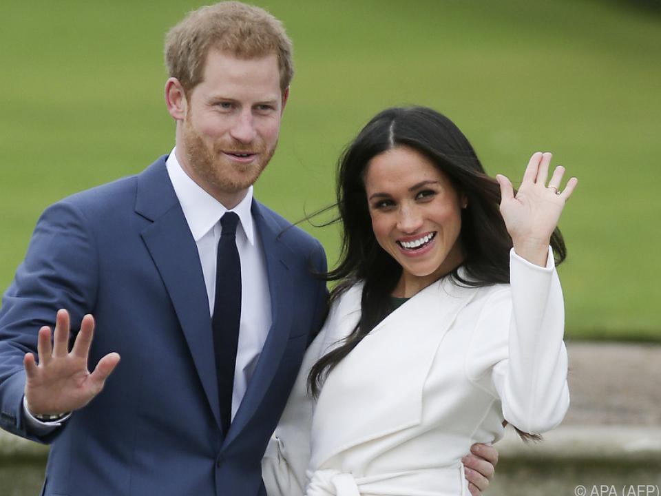 Prince Harry und Meghan Markle heiraten am 19. Mai