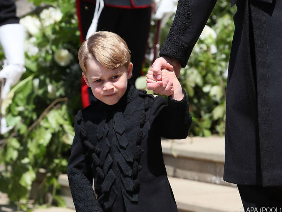 Prinz George sollte angegriffen werden