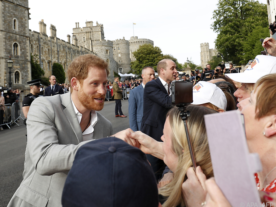 Prinz Harry macht noch einmal die Runde
