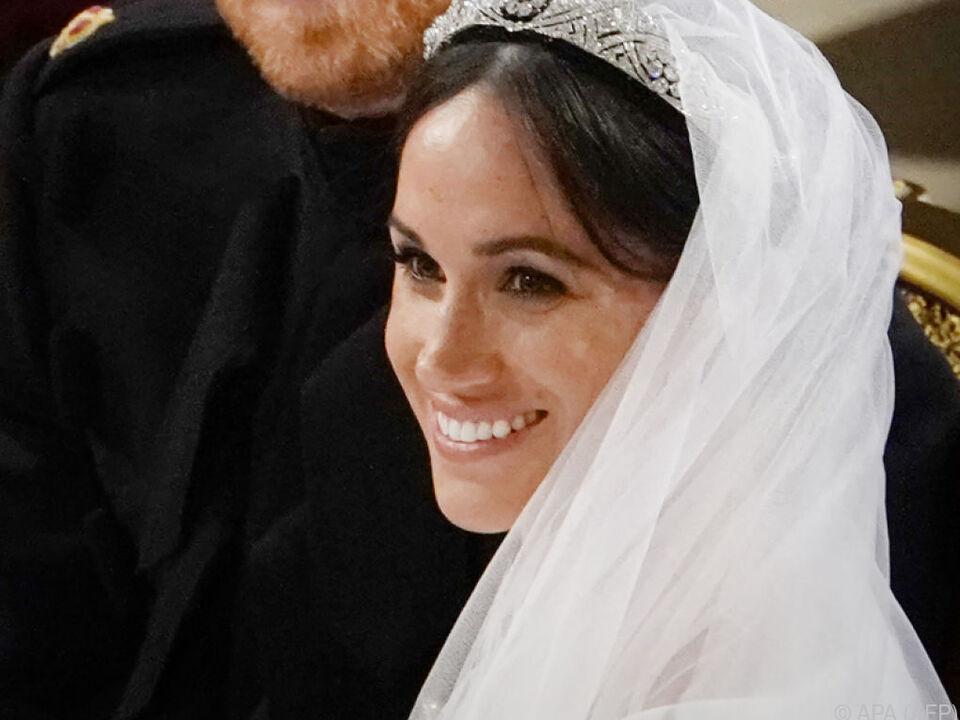 Prinz Harry und Meghan gaben sich das Jawort