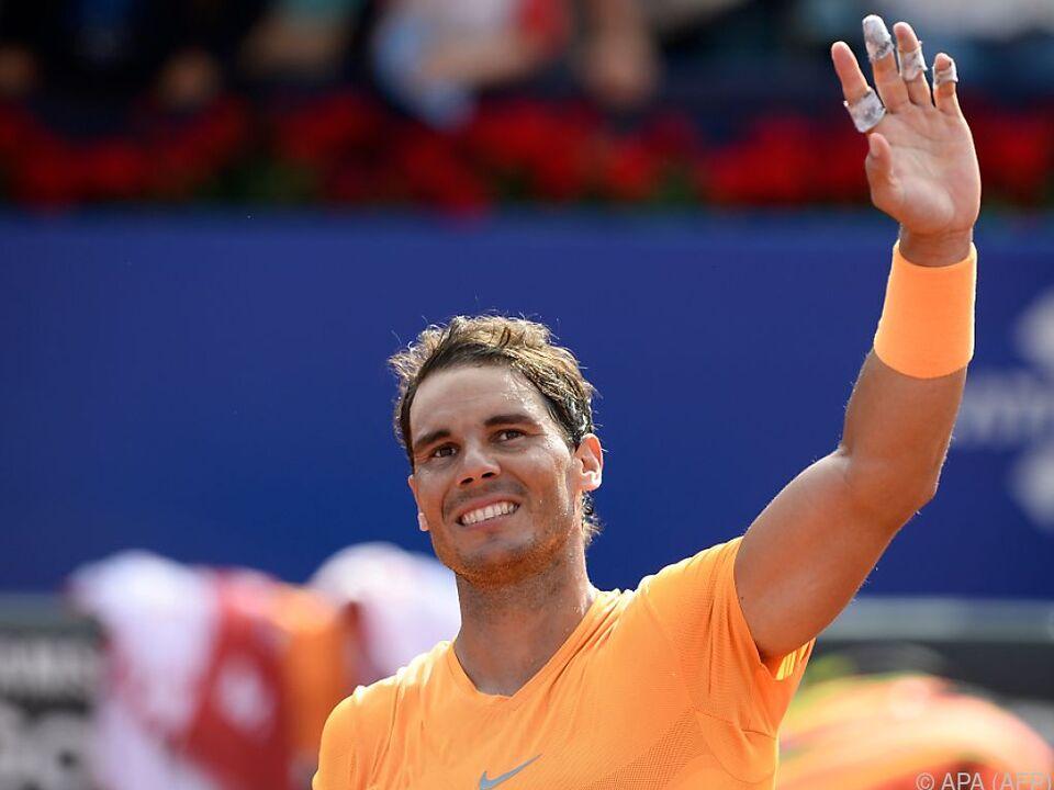 Rafael Nadal und weitere Top-Spieler treten beim Rasenevent an