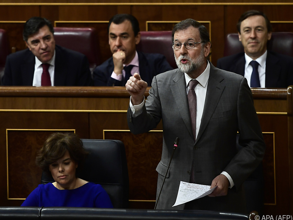 Rajoy sieht wohl seiner Abwahl entgegen