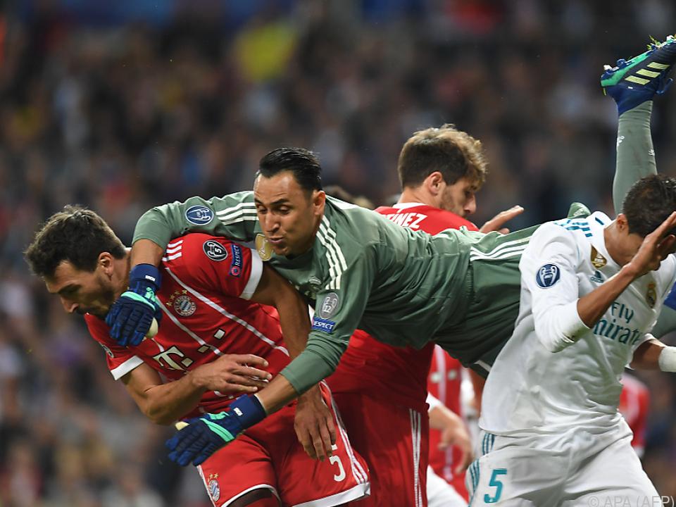 Real-Keeper Navas ließ die Bayernspieler verzweifeln