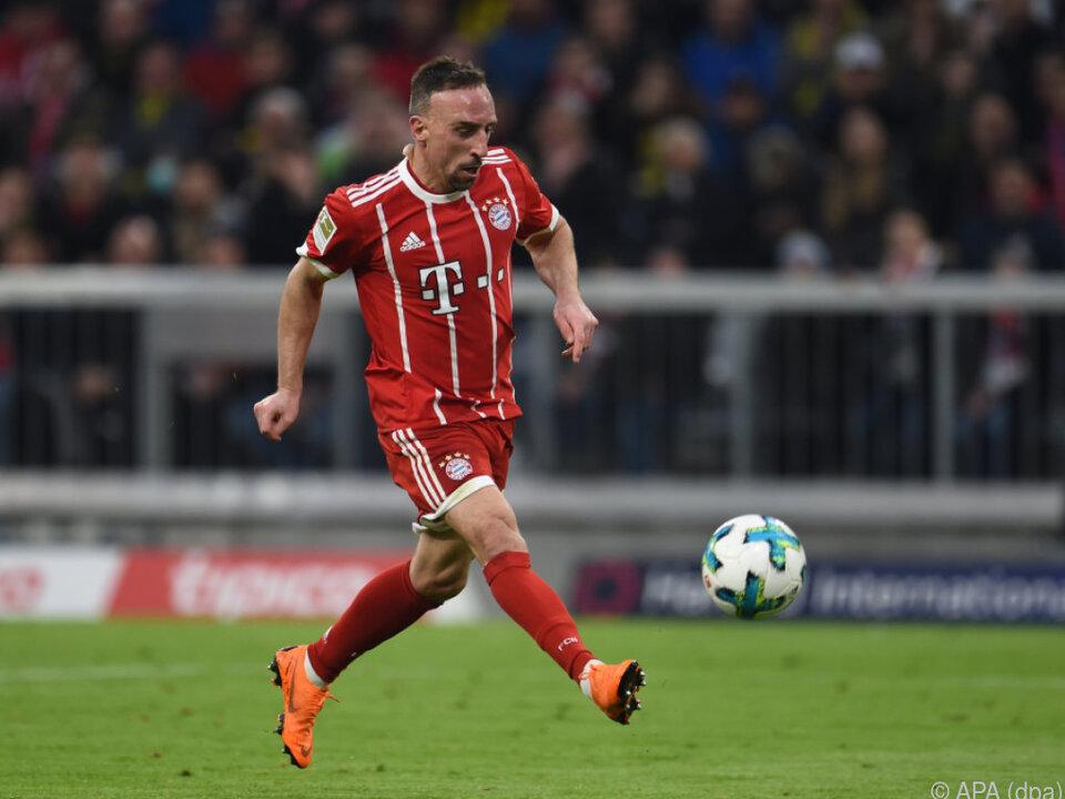 Ribéry verlängerte seinen Vertrag bei den Bayern