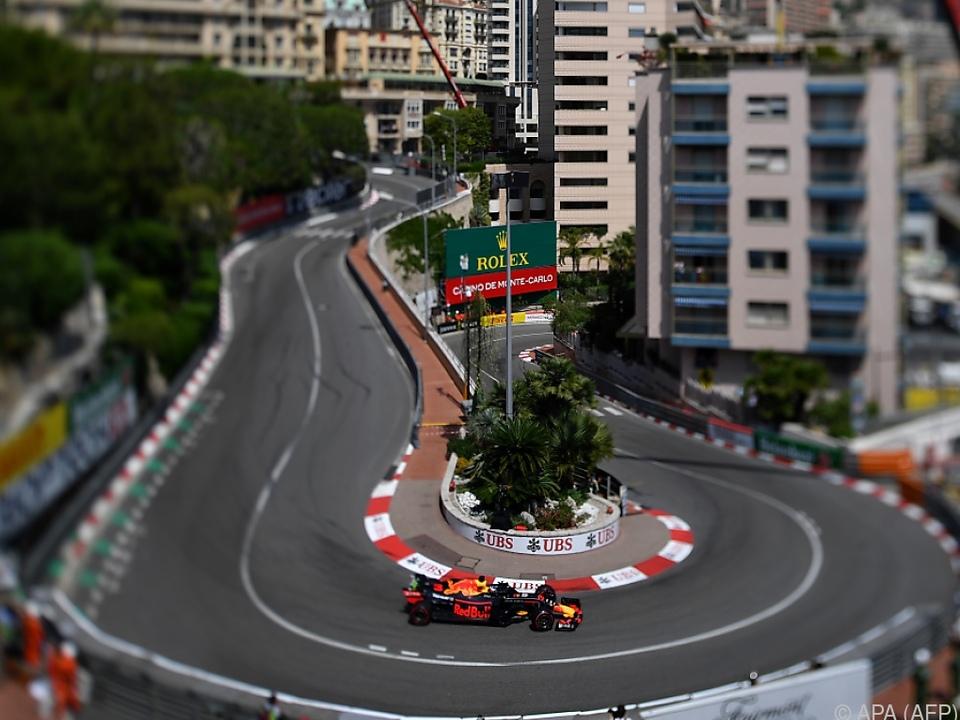Ricciardo am langsamen Kurs am schnellsten