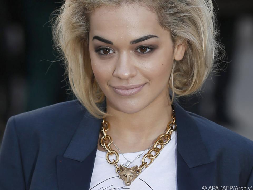 Rita Ora ist eben 50:50
