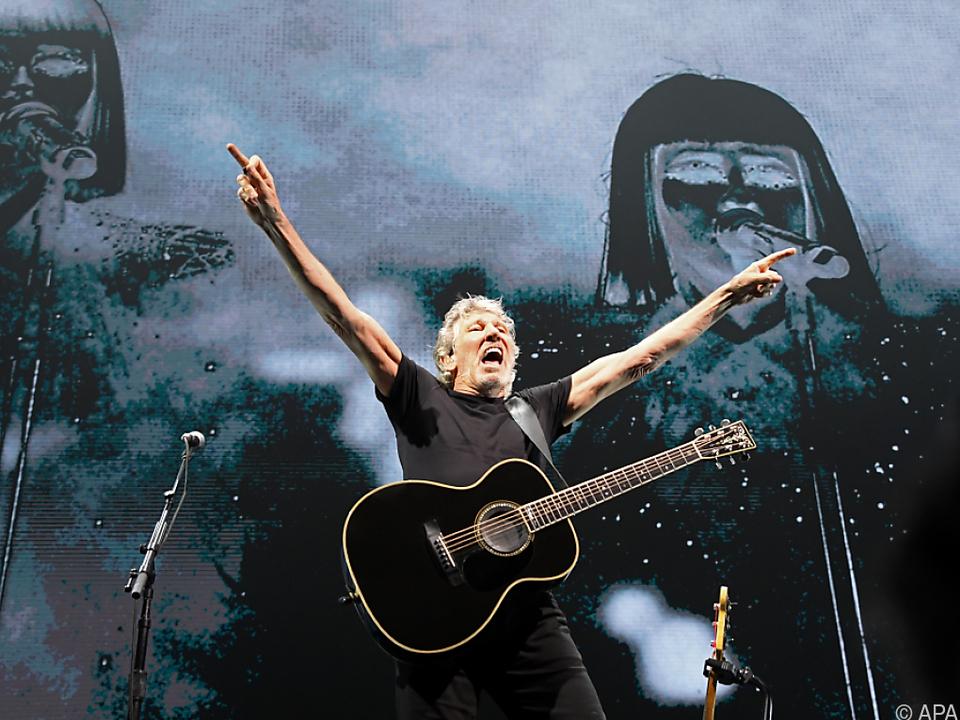 Roger Waters gibt sich politisch - und wird deswegen auch angefeindet
