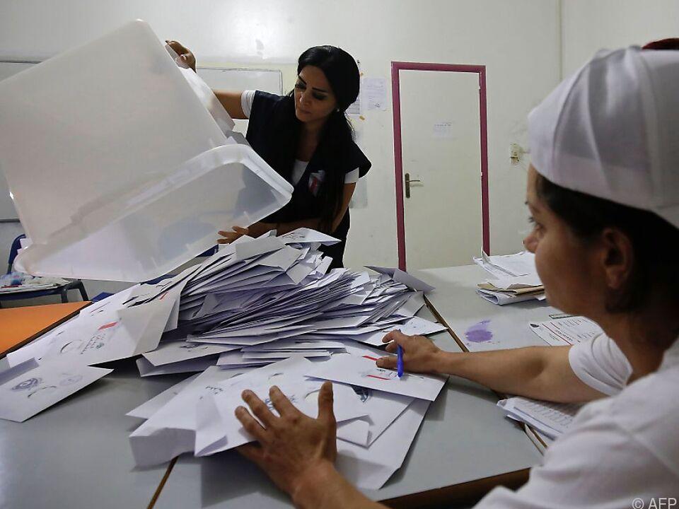 Rund 3,7 Millionen Wähler waren am Sonntag zur Stimmabgabe aufgerufen