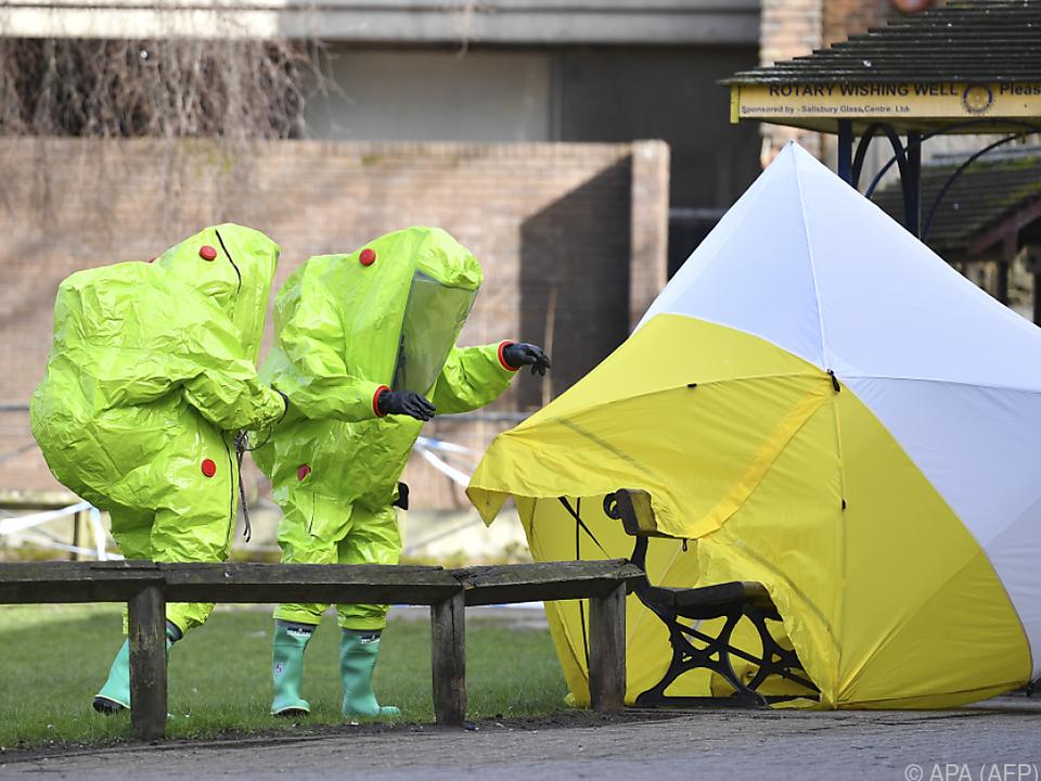 Russland weißt auch Chemiewaffen-Vorwürfe im Fall Skripal zurück