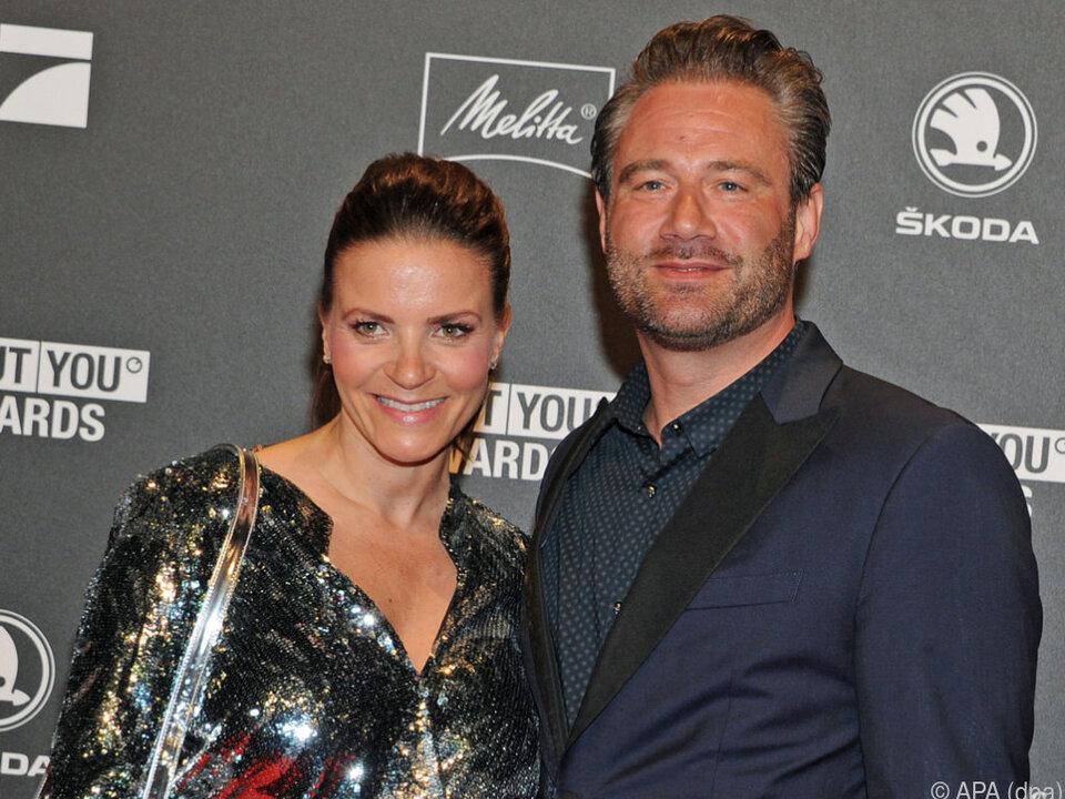 Sasha mit seiner Frau Julia
