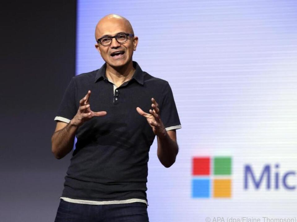 Satya Nadella will Microsoft zum moralischen Anführer IT-Branche mache