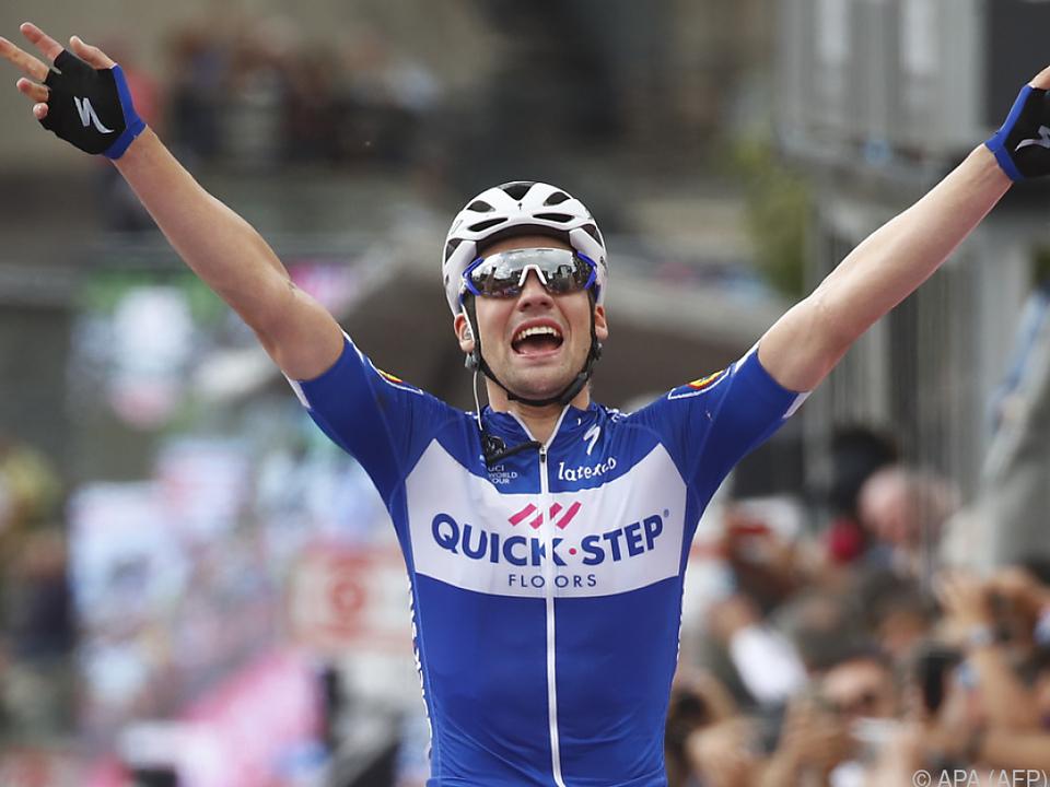 Schachmann ist der erste deutsche Etappensieger beim 101. Giro