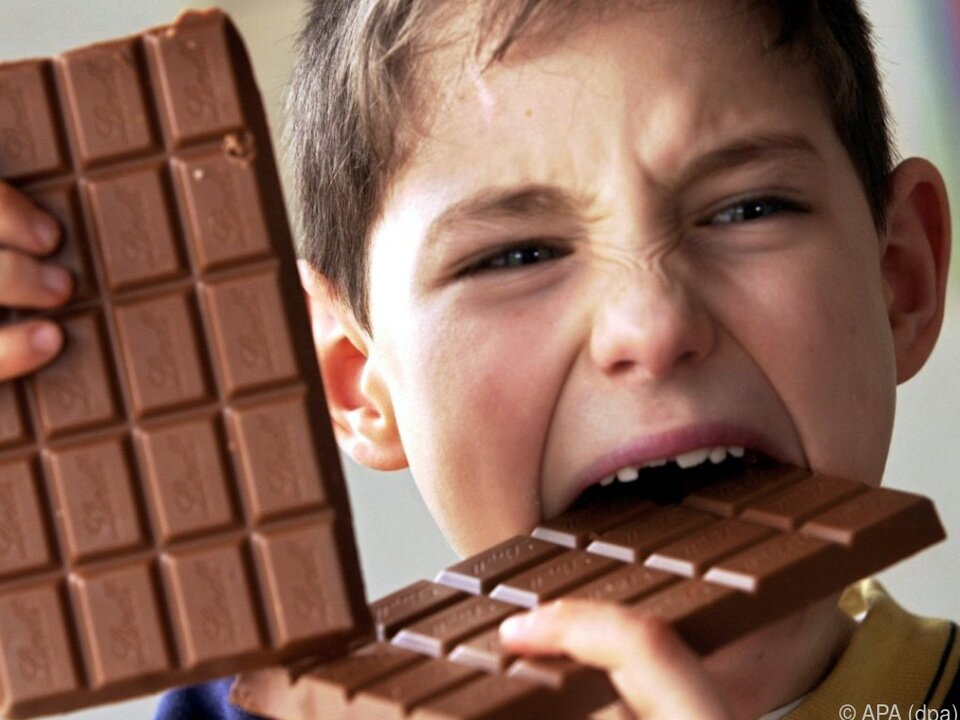 Schade um die gute Schokolade!