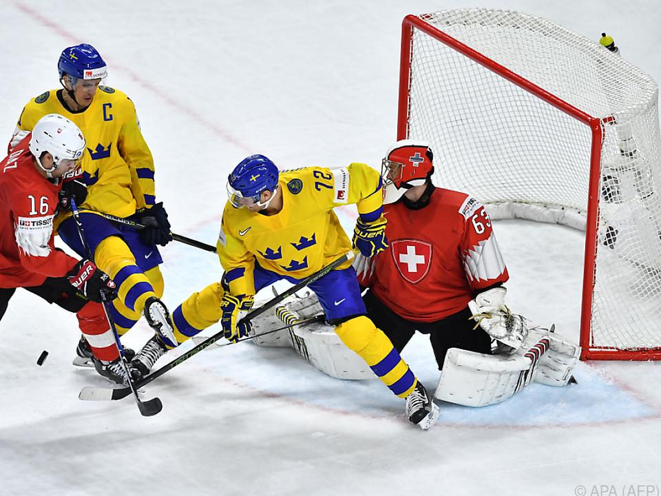 Schweden gewann Finale gegen die Schweiz