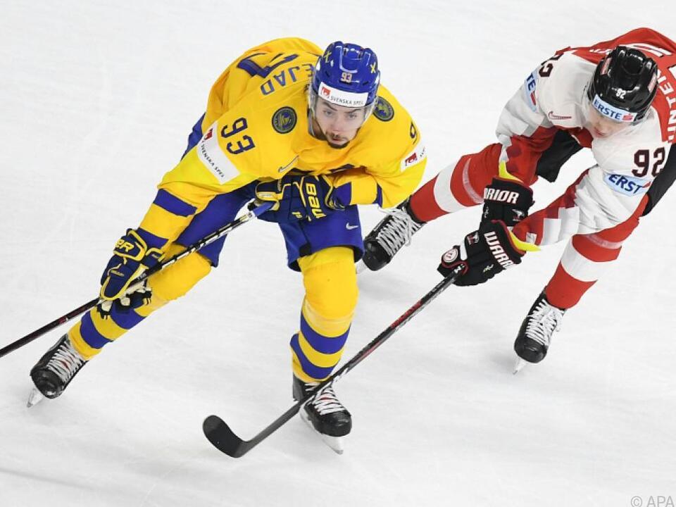 Schweden schossen Österreich vom Eis