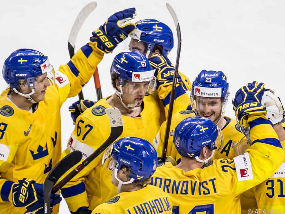 Schweden sicherte sich den ersten Platz in Gruppe A