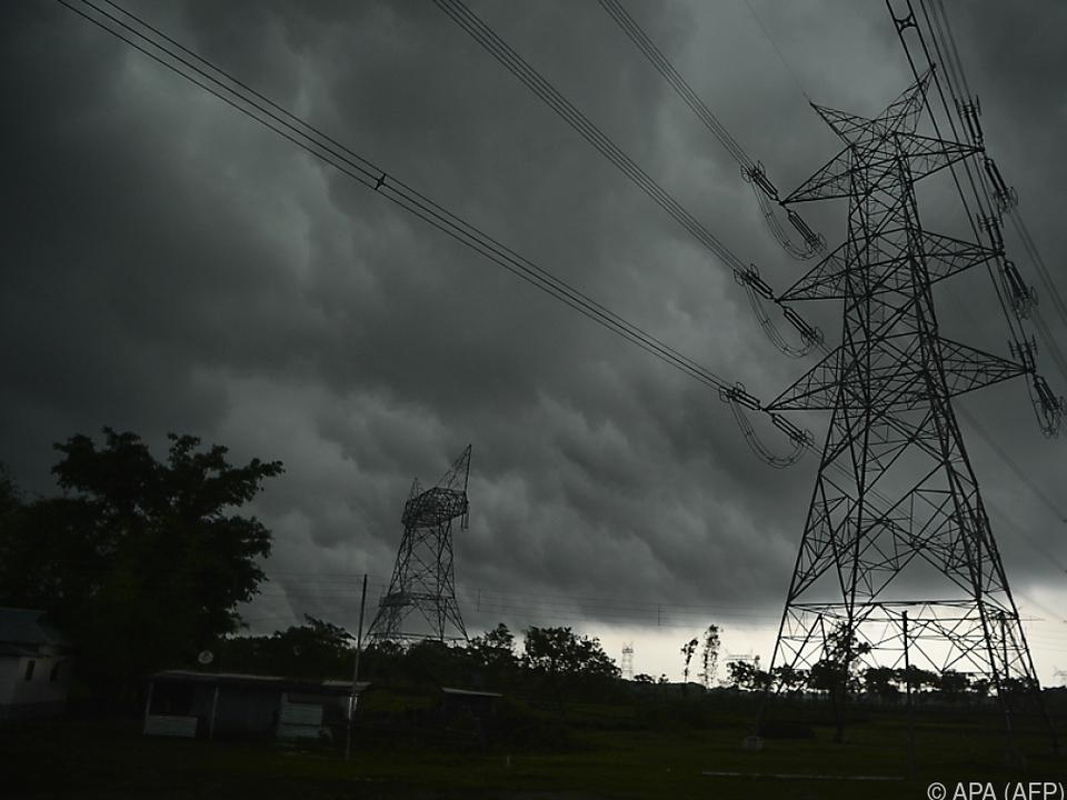 Schwere Unwetter wüten über Indien