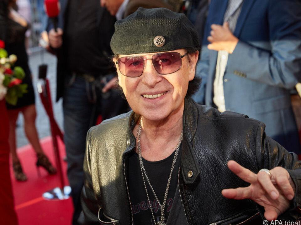 Scorpions-Frontmann Klaus Meine wird 70