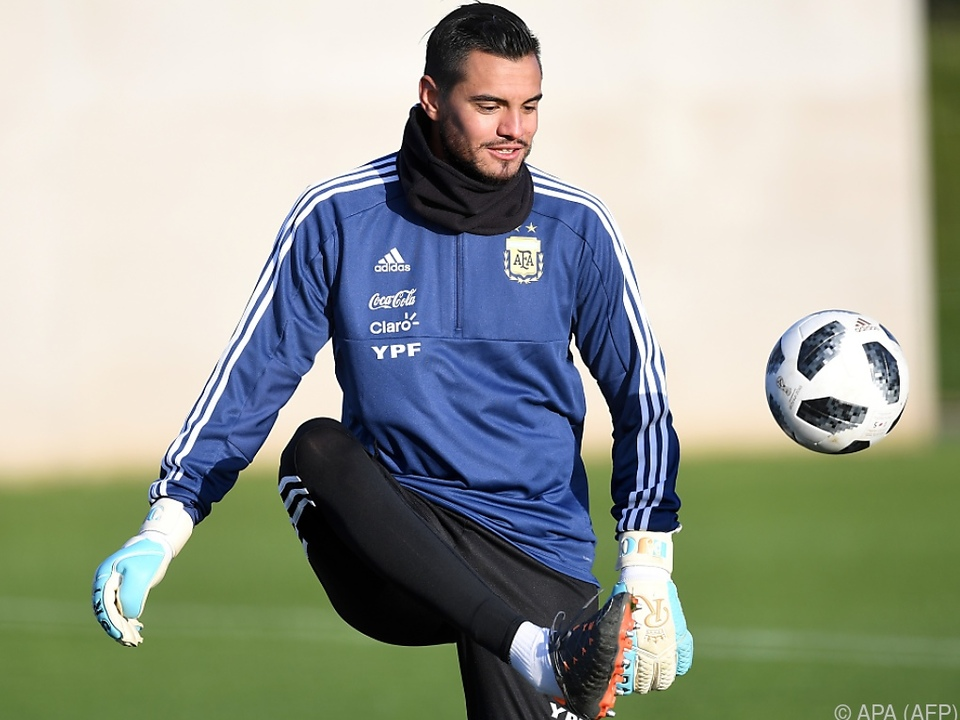 Sergio Romero wird die WM verpassen
