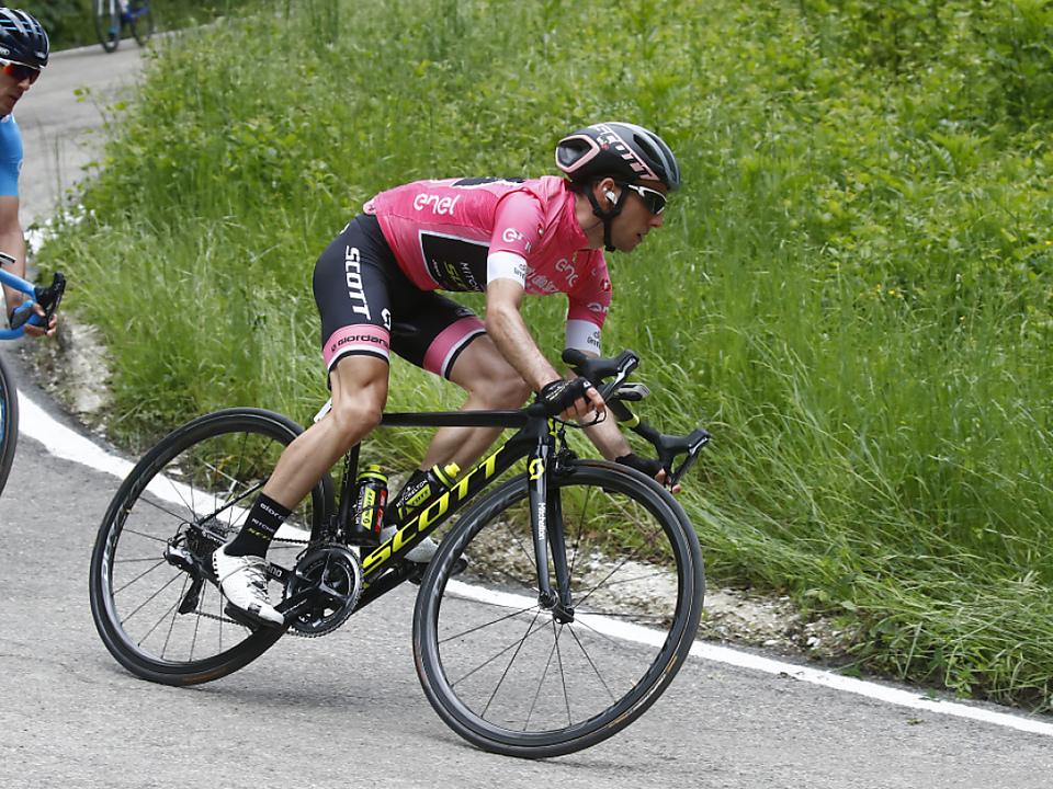 Simon Yates verteidigte die Giro-Führung