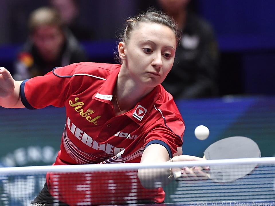 Sofia Polcanova spielte groß auf