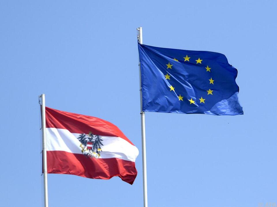 Sogar die Brexit-Briten stehen mehr auf die EU als die Österreicher