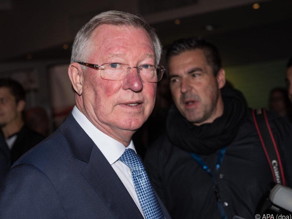 Sorgen und Betroffenheit um Sir Alex Ferguson