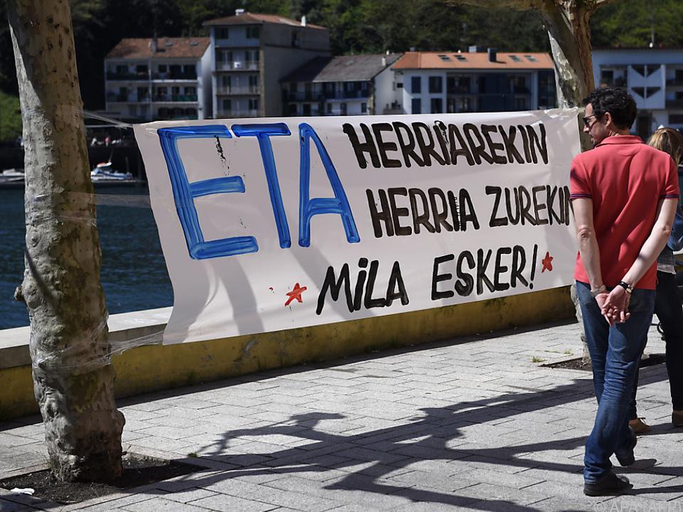 Spanien will sich gegenüber ETA unnachgiebig zeigen
