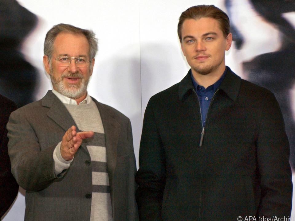Spielberg und DiCaprio arbeiteten zuletzt 2003 zusammen