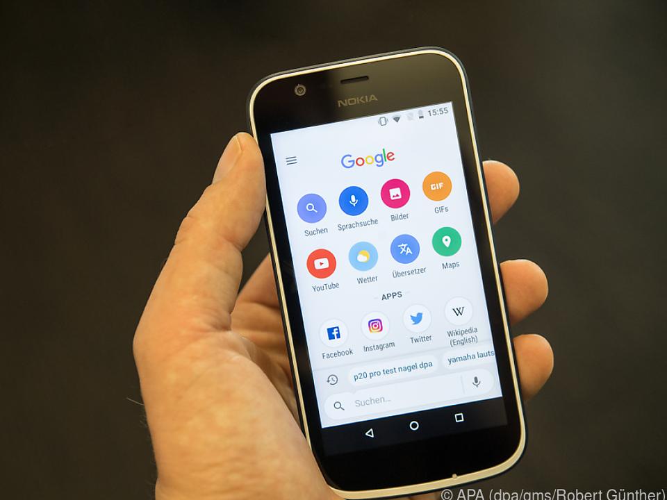 Statt vollwertiger Google-App gibt es mit Android Go eine abgespeckte Version