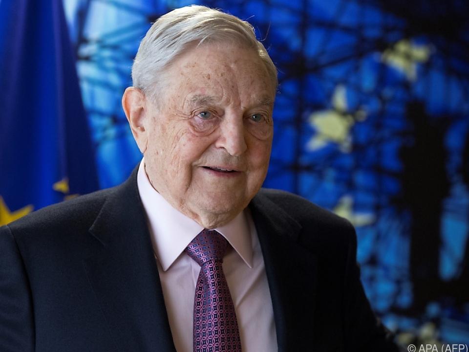 Stiftung des US-Milliardärs George Soros