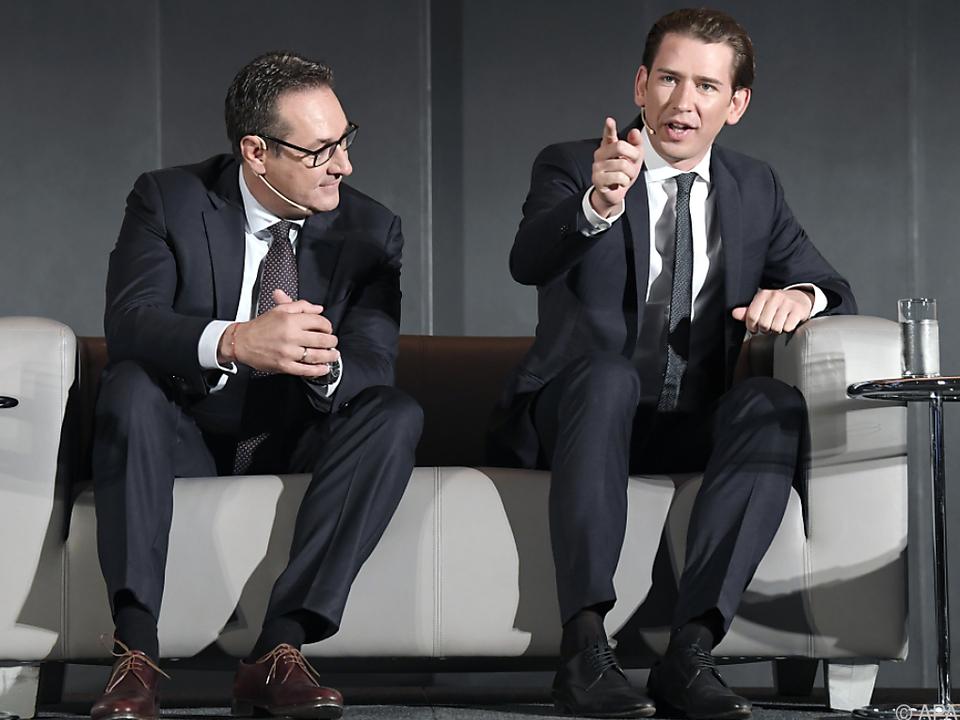 Strache kümmert sich um Österreich, Kurz um den Europäischen Rat