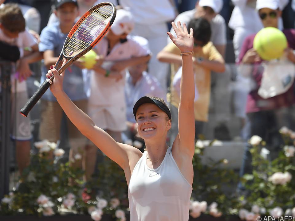 Switolina gewann wie im Vorjahr in Rom