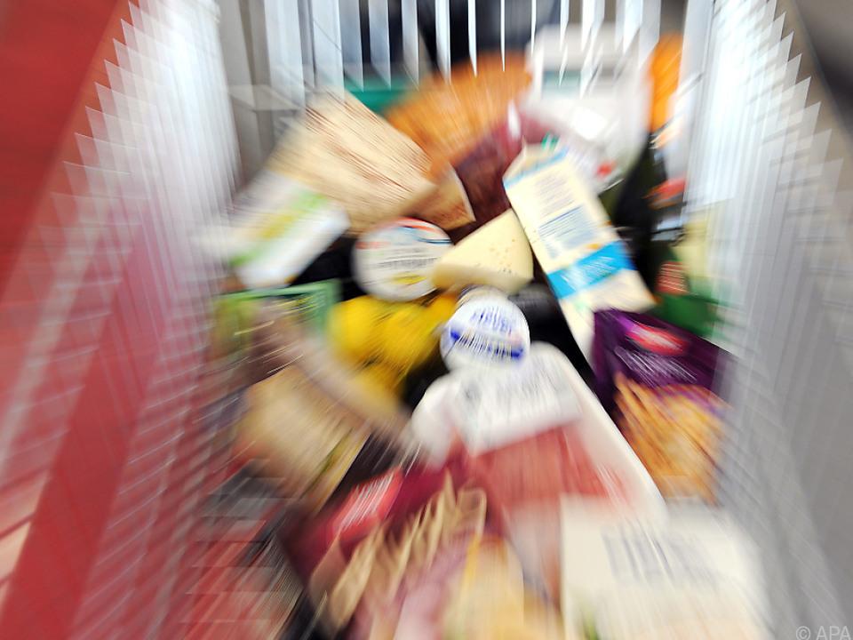 Täglicher Einkauf wurde um 3,8 Prozent teurer