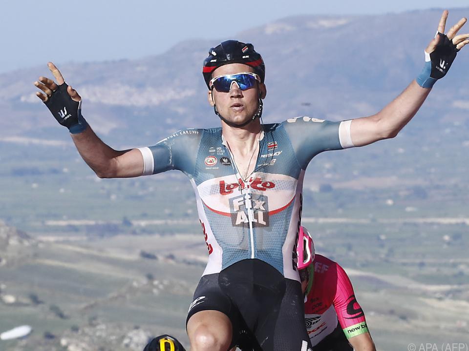 Tagessieger Tim Wellens aus Belgien