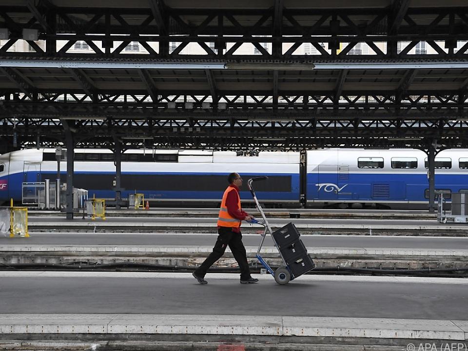 TGV-Verbindungen von Streiks betroffen