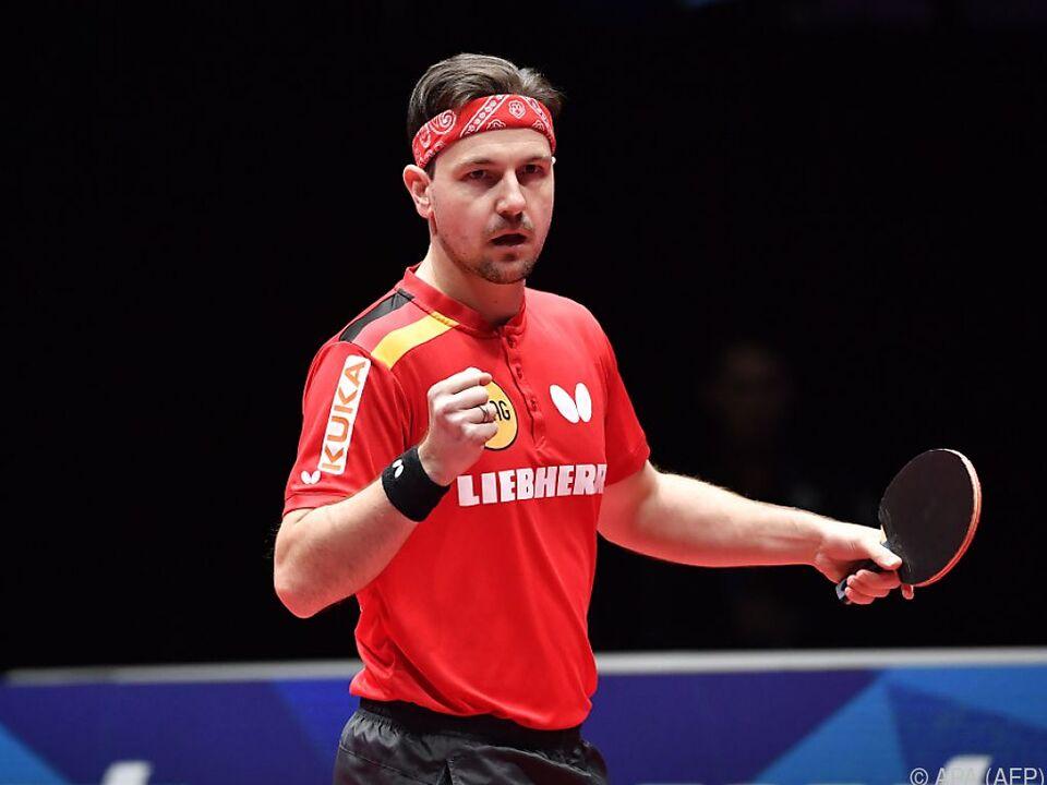 Timo Boll greift mit Deutschland nach Team-WM-Gold